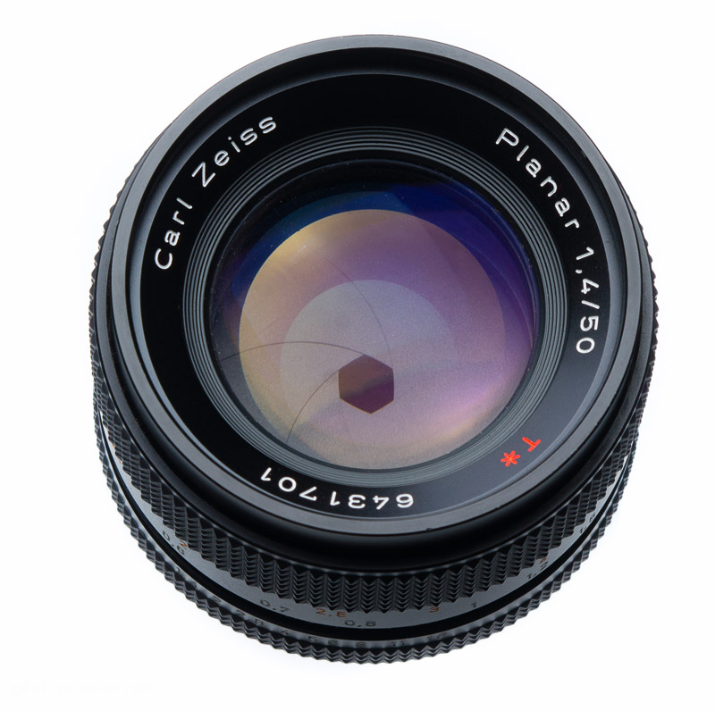 The Carl Zeiss Planar 1,4 50 with C Y mount is a typical representative of  the 1.4 50 class 808ca1dd2f