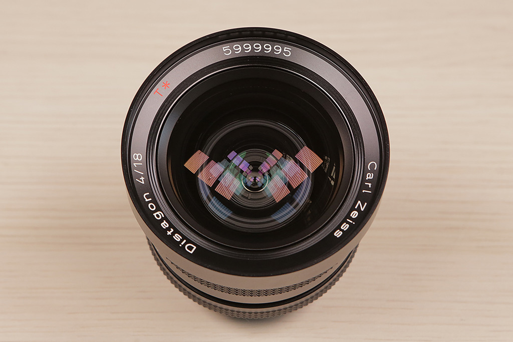 Carl Zeiss 18mm f4 T* Distagon CY